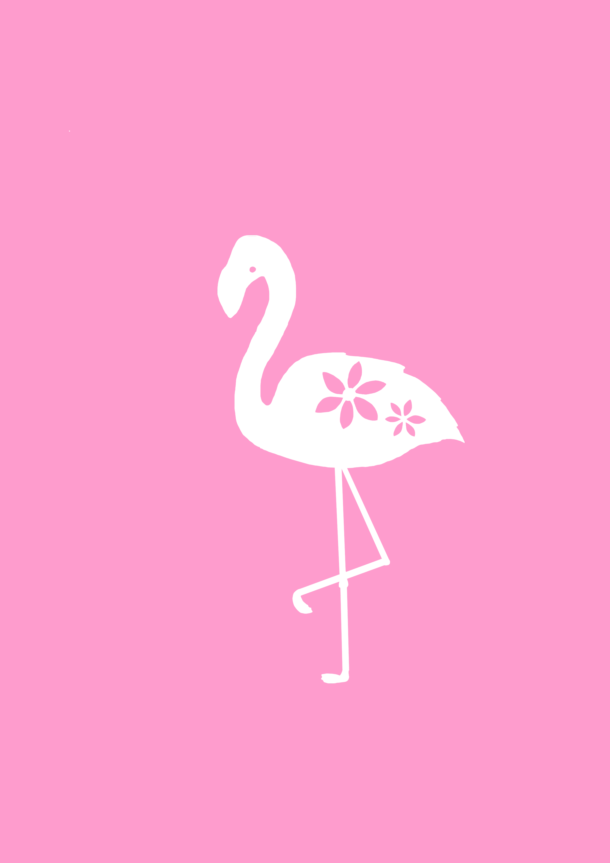Free flamingo papercutting template paper28 this flamingo is really quick and easy to cut out so it is perfect for beginners pronofoot35fo Images