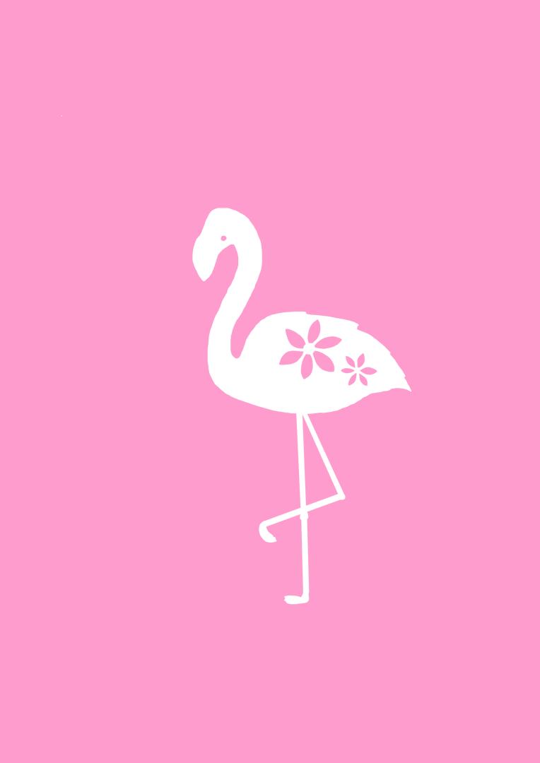 flamingo beak template - paper28 free papercutting templates